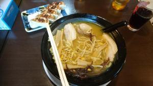 Ein muss in Japan - Ramen - in verschiedenstens Variationen, hier Curry Ramen
