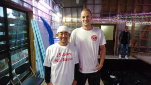 Bei unseren Freunden den Ishihara-Brüdern auf der Yagenji-Koi-Farm